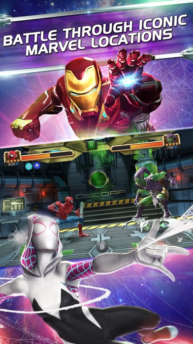 MARVEL Contest of Champions Screenshot on iOS
