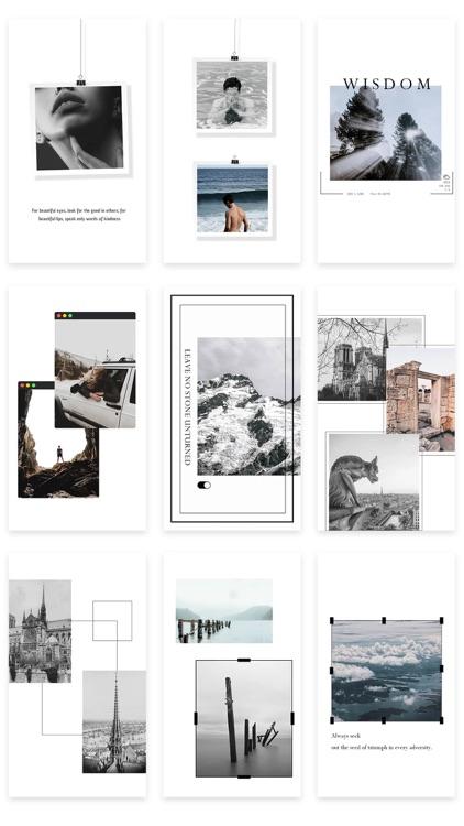 StoryChic—Story Editor&Collage screenshot-0