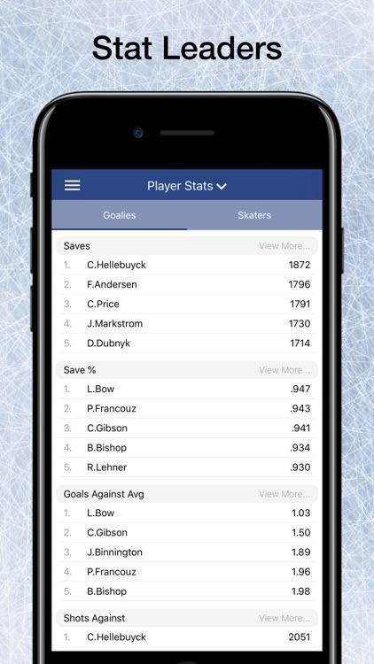 Scores App: Pro Hockey 2020 screenshot-5