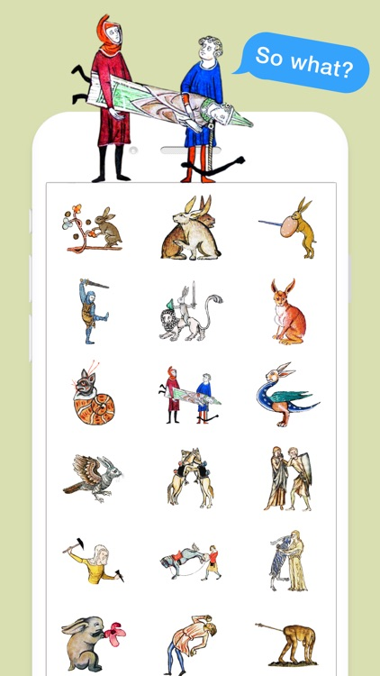 Medieval Rabbit Stickers screenshot-3