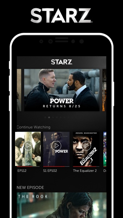 download STARZ apps 1