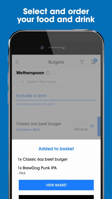 Screenshot for Wetherspoon in South Africa App Store