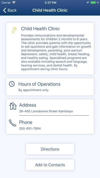 BC Health Service Locator screenshot-3