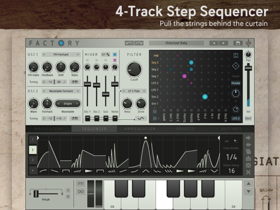 Factory - Modular Synthesizer screenshot 4