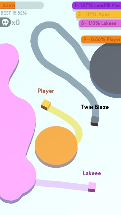 Paper.io 3D: Multiplayer screenshot-3