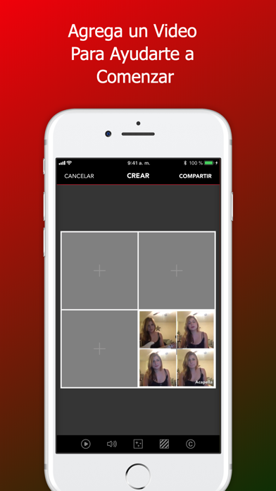 Screenshot for Acapella from PicPlayPost in Chile App Store