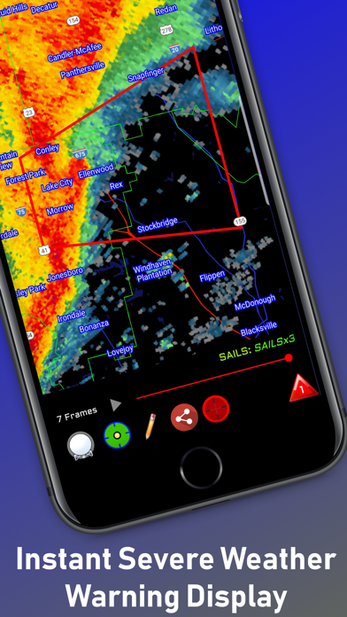 RadarOmega Screenshot