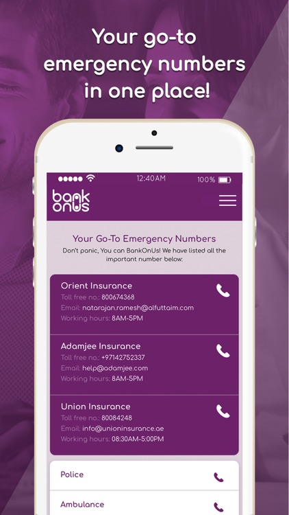 BankOnUs: Insurance & Banking screenshot-6