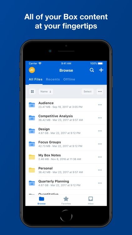 Box — Cloud Content Management screenshot-3