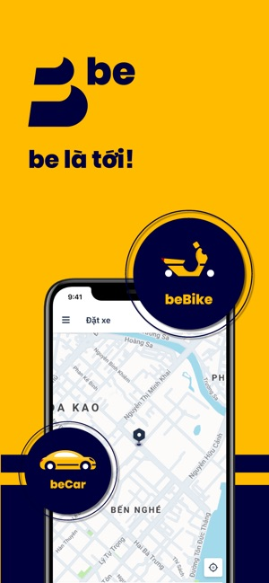 be - Vietnamese ride-hailing on the App Store