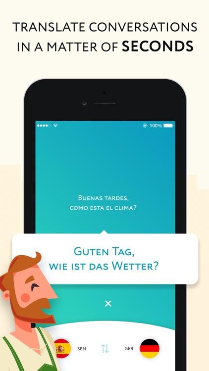 Speak & Listen Translator app screenshot-4