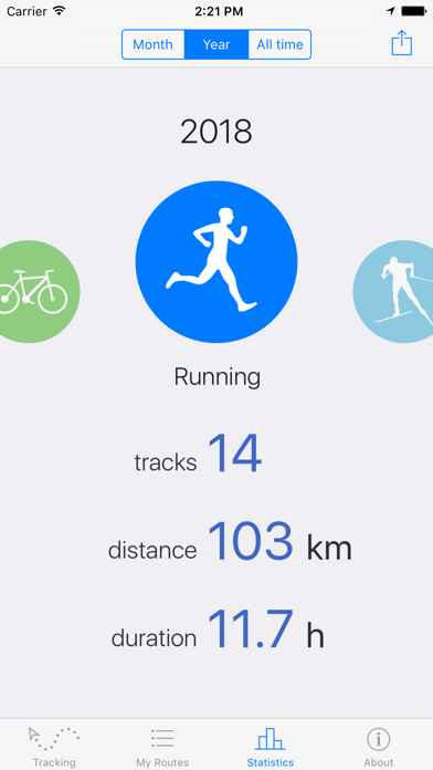 Routie ~ GPS sports trackerのおすすめ画像5