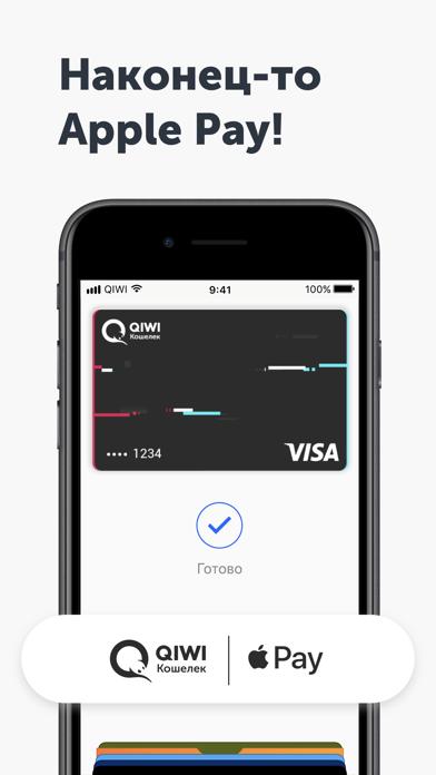 QIWI Wallet - оплата госуслуг screenshot one