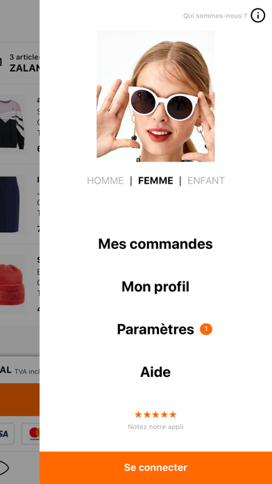 Zalando - Shopping mode pour Android