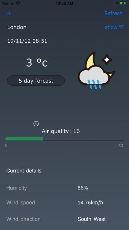 Clean AirWeather
