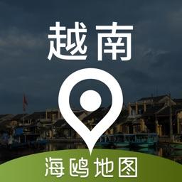 越南地图 - 海鸥越南中文旅游地图导航