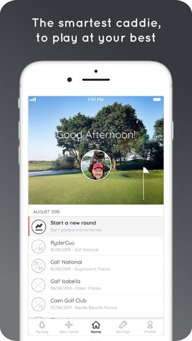 Hello Birdie Golf GPS & Caddieのおすすめ画像1