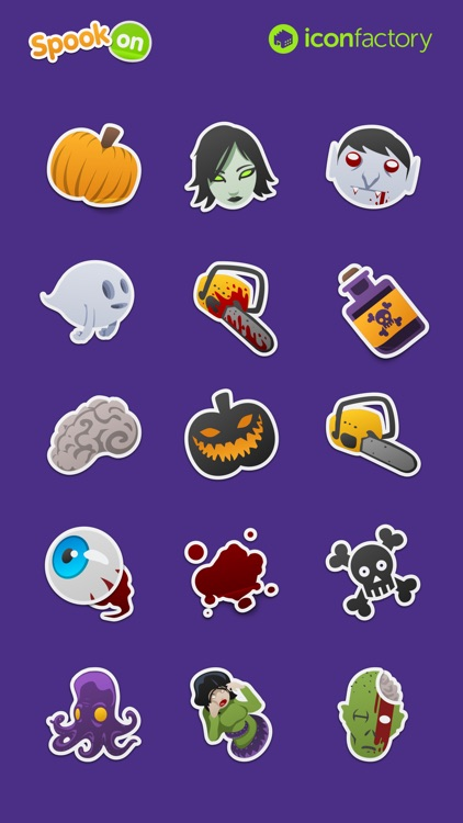 Iconfactory Spook On Stickers