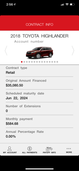 Toyota Financial Payment >> Mytfs Toyota Financial On The App Store