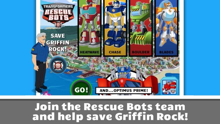 Transformers Rescue Bots: screenshot-0