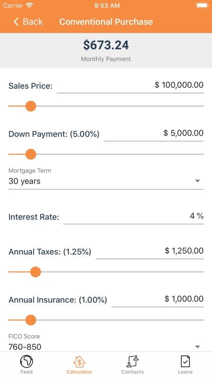 Embrace Mortgage Calculator screenshot-3