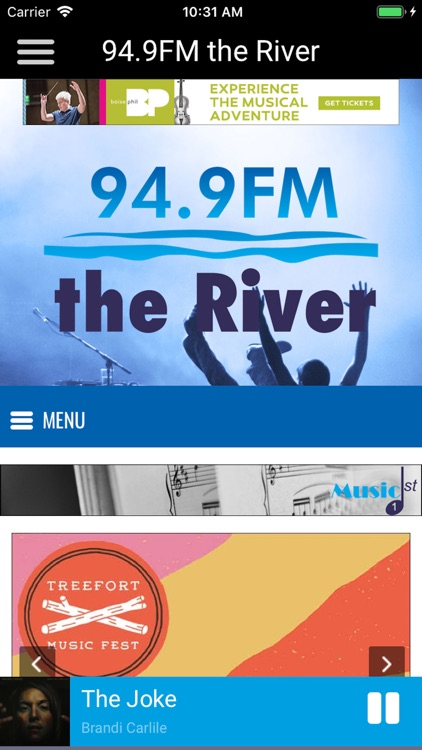 94.9 FM - the River screenshot-4