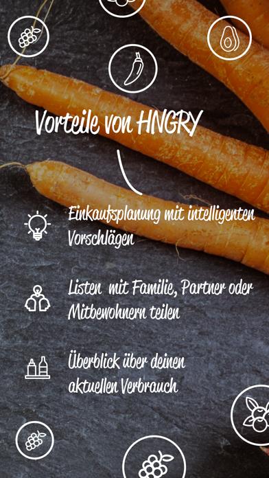 HNGRY - Einkaufsliste & VorratScreenshot von 4