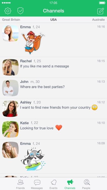 Frim: meet new people screenshot-3
