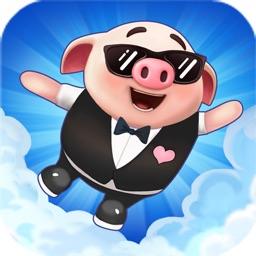 Jumping Piglet- Absolute Cute!