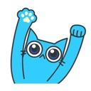 Crazy Blue Cat 2
