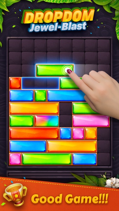 Dropdom™ Puzzle Block Jewel på PC