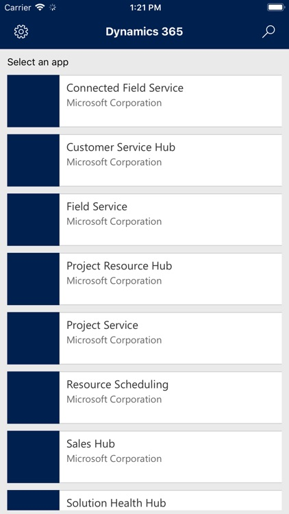 Dynamics 365 for phones