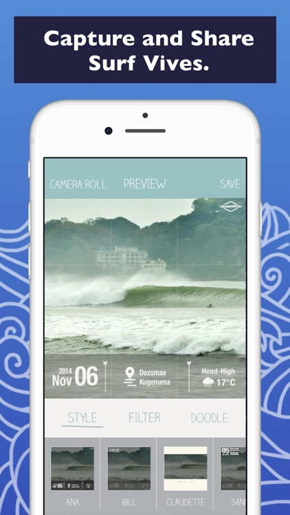 Surfpic – Surf Photo Editor screenshot-0