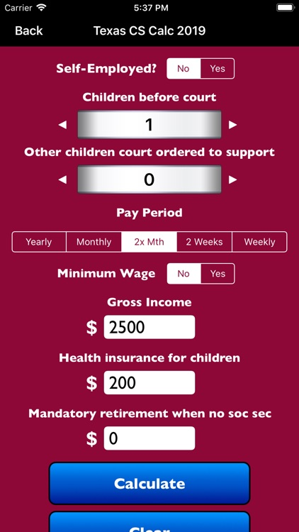 Texas Child Support Calc 2019 by VernerLegal