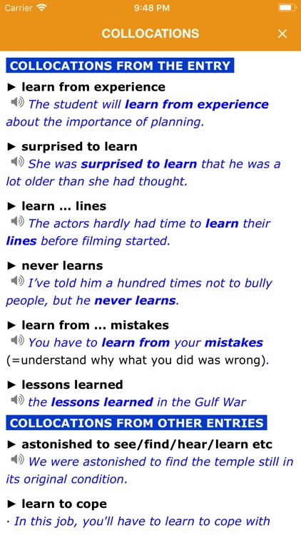 Dictionary of English - LDOCE6 screenshot-4
