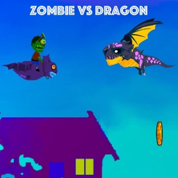 Zombie vs Dragon - Flying game