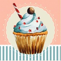 Cupcake Stickers!!
