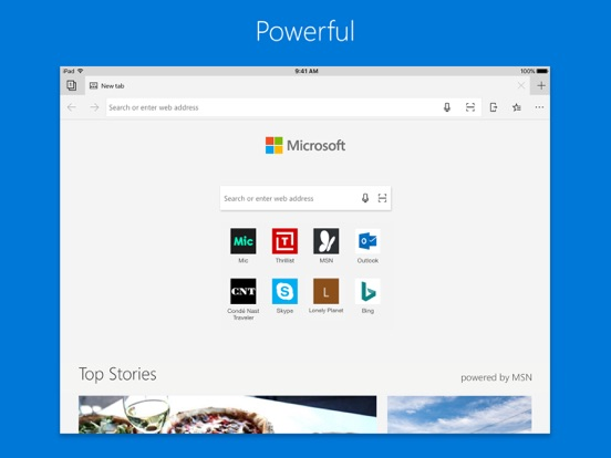 Microsoft Edge IPA Cracked for iOS Free Download