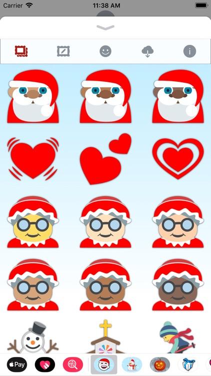 Christmas Emoji • Stickers screenshot-7