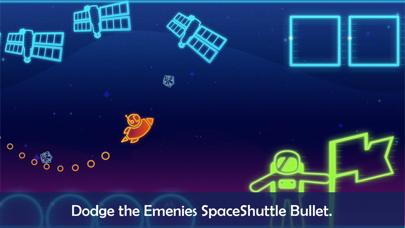 Take Me To Mars -glow stickman screenshot three