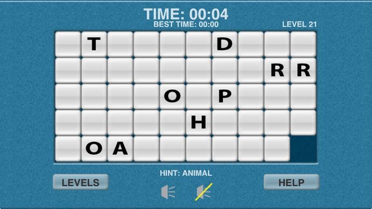 Word Slide Puzzle