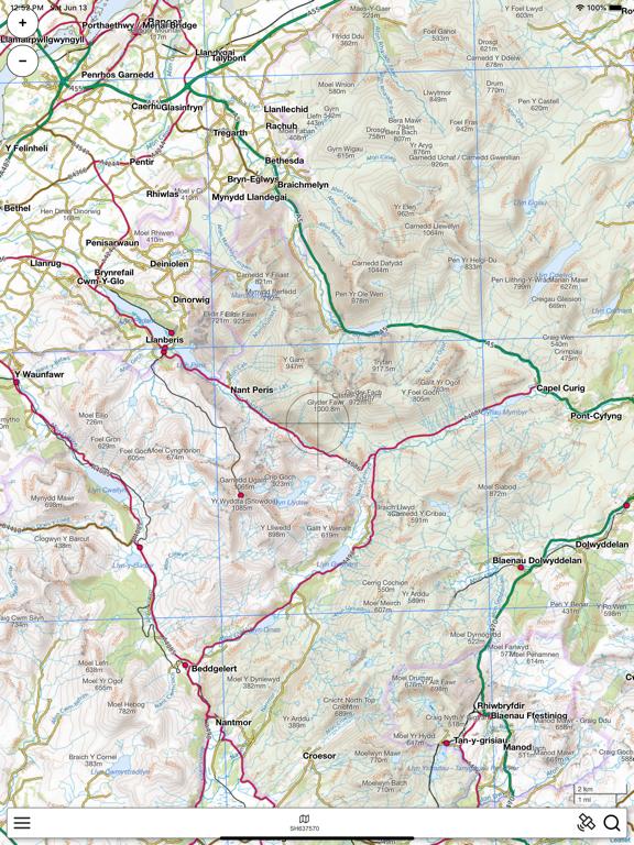 Snowdonia Outdoor Map screenshot 5