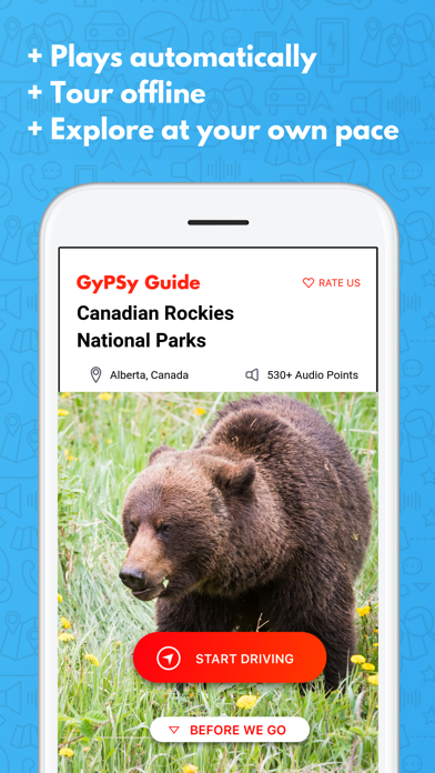 Canadian Rockies GyPSy Guide Screenshot