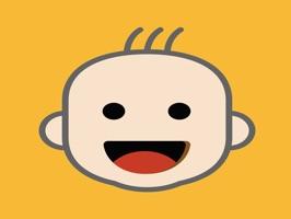 funny baby emoji lovely sticke