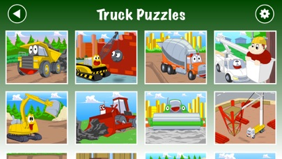 Trucks JigSaw Puzzle for Kidsのおすすめ画像3