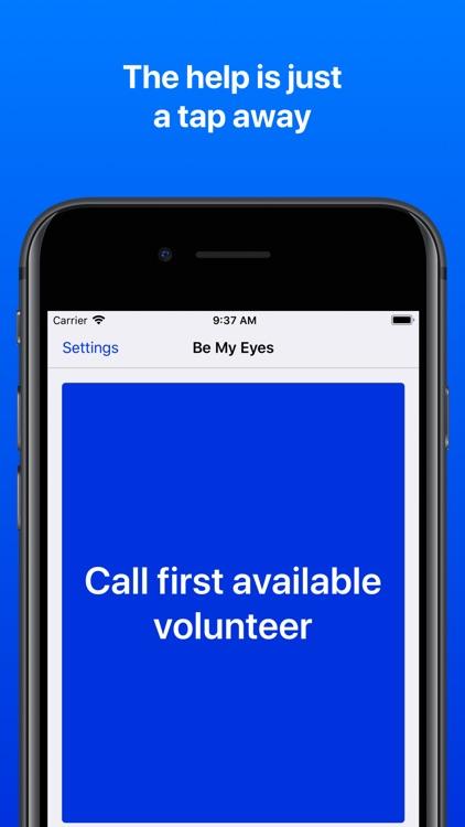 Be My Eyes – Helping the blind screenshot-4