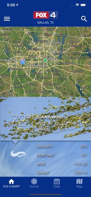 FOX 4: DFW WAPP - Weather on the App Store