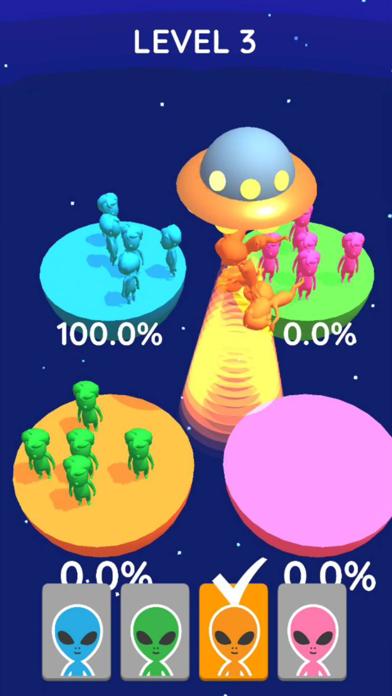 UFO Catch Sorting screenshot 1