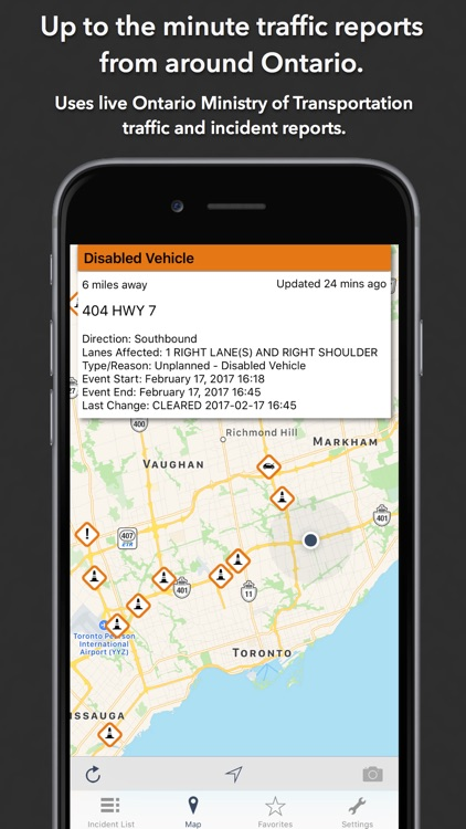 Ontario Roads Traffic screenshot-0