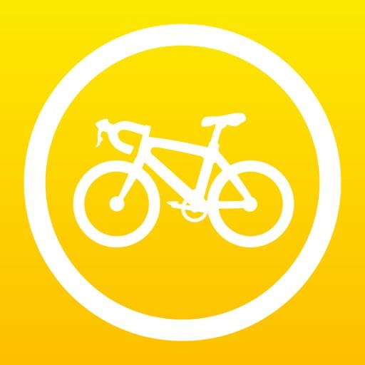 Cyclemeter GPSサイクリング、自転車、ランニング